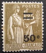 LOT R1624/216 - 1934 - TYPE PAIX - N°298 NEUF* - 1932-39 Paix
