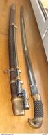 Soviet-Russia-Saber-sword-1934-szaszka +bayonet - Blankwaffen