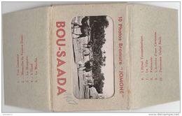 Z861 Petit Carnet De 10 Vues  BOU SAADA  10 X 7 CM - Alger