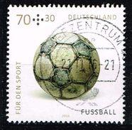 Bund 2016, Michel# 3235 O Für Den Sport: Fussball - BRD