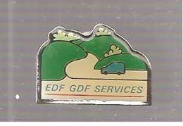 Pin's EDF EDF GDF SERVICES - EDF GDF