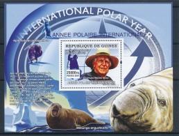 D- Guinée 2007 - Année International Polaire, Animaux - Année Polaire Internationale
