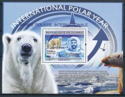 D- Guinée 2007 - Année International Polaire, Ours Blanc, Oiseaux - Année Polaire Internationale