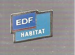 Pin's EDF EDF HABITAT - EDF GDF