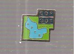 Pin's EDF EDF GDF - EDF GDF