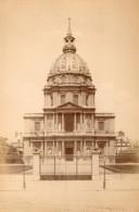 Paris Dome Des Invalides Ancienne Photo Champagne 1890 - Photographs