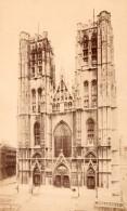 Cathedrale Saint Michel Et Sainte Gudule Bruxelles Architecture Ancienne Photo 1890 - Photographs