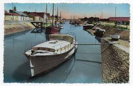 Ile De Noirmoutier--NOIRMOUTIER --1953--Le Port De Noirmoutier (bateaux)---beau Cachet Mécanique Tp Gandon..à  Saisir - Noirmoutier
