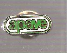 Pin's EDF APAVE PRESTATAIRE D'EDF - EDF GDF