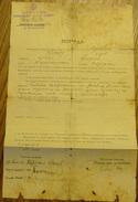 1939 YUGOSLAVIA KINGDOM INVALIDITY INSURANCE, INVALIDSKA KOMISIJA, KOMANDA PRIZRENSKOG VOJNOG OKRUGA, RARE - Documents