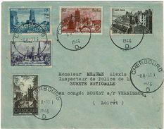 VILLES MARTYRES CHERBOURG 17/1/1946 - France