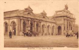 BRUXELLES - La Gare Du Midi. - Chemins De Fer, Gares