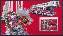 [401842]Guinée 2006 - Pompier Mike Kehoe, Sapeurs-Pompiers, Camions - Bombero