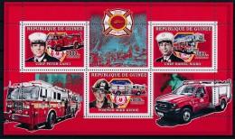 [401843]Guinée 2006 - Véhicules De Pompiers, Sapeurs-Pompiers, Camions, Chef Peter Ganci, Chef Daniel Nigro, Pompier Mik - Bombero