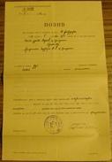 1932 YUGOSLAVIA KINGDOM, JUDICAL CALL PRIZREN. PRVOSTEPENI SUD OPSTINE GRADA PRIZRENA - Historische Dokumente