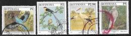 Botswana, Scott # 631, 634-6 Used Birds, 1997 - Botswana (1966-...)