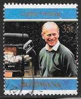 Botswana, Scott # 644 Used Royal Wedding Anniv., 1997 - Botswana (1966-...)