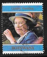 Botswana, Scott # 645 Used Royal Wedding Anniv., 1997 - Botswana (1966-...)