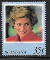 Botswana, Scott # 659 Used Diana, 1998 - Botswana (1966-...)