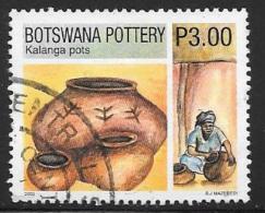 Botswana, Scott # 738 Used Pottery, 2002 - Botswana (1966-...)