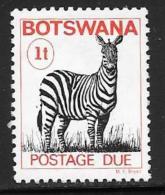 Botswana, Scott # J8 Mint Hinged Postage Due, 1978 - Botswana (1966-...)