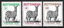 Botswana, Scott # J9-10, J12 MNH Postage Due, 1978 - Botswana (1966-...)