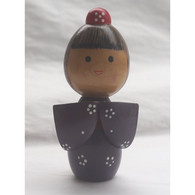 Japanese Wooden Doll - Asian Art