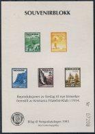 1995 Norway Souvenirblokk - Blocks & Sheetlets