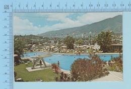 Caracas Venezuela  - View Of The City From The Fabulus Tamaco Hotel, Cover Aruba 1979 -> Sorel Quebec Canada - Venezuela