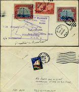 US C11 FIRST FLIGHT COVER.. Signed By AMELIA EARHART Jan. 9, 1929 ... SCARCE San Juan Puerto Rico - Poste Aérienne