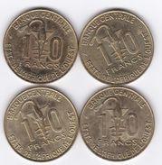 Union Monétaire  Afrique De L'Ouest (BCEAO)- 10 Francs  / KM 15 - Other - Africa