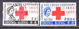 HONG  KONG  219-20  (o)   RED  CROSS - Hong Kong (...-1997)