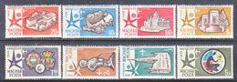 HUNGARY  C 176-83  **  BRUXELLES  WORLD  FAIR - Airmail