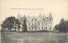 """CPA FRANCE 44 """"Machecoul, Château Du Treil"""" - Machecoul"""
