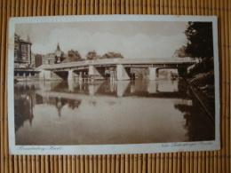 Brandenburg Havel, Luckenberger Brücke, Gelaufen 1931 - Brandenburg