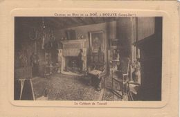 CPA 44 Loire Atlantique - BOUAYE - Château Du Bois De La Noë - Cabinet De Travail - Bouaye