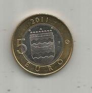 Monnaie , SUOMI FINLAND , 5 Euro , 2011 , 2 Scans, Frais Fr : 1.95 E - Finlande