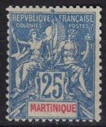 Martinique N° 47 * - Martinique (1886-1947)