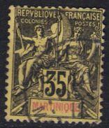 Martinique N° 48 - Martinique (1886-1947)