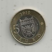 Monnaie , SUOMI FINLAND , 5 Euro , 2010 , 2 Scans, Frais Fr : 1.95 E - Finlande