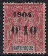 Martinique N° 56 * - Nuovi