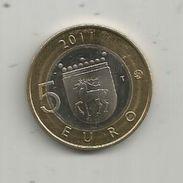 Monnaie , SUOMI FINLAND , 5 Euro , 2011 , 2 Scans, Frais Fr : 1.95 E - Finnland