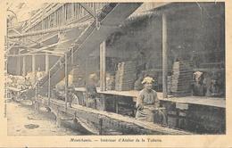 Montchanin (Saône-et-Loire), Intérieur D'Atelier De La Tuilerie, Collection Photo-Club (Ch. Martel) - France