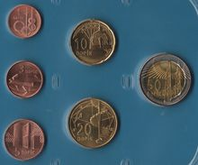 Azerbaïdjan  COIN SET 6 MONNAIES 1 QAPIK - 50 QAPIK - Azerbaiyán