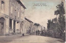PR- CAMP DU LARZAC  LA MUSIQUE AU VILLAGE     CPA  CIRCULEE - La Cavalerie