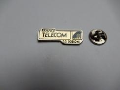 Beau Pin's , France Télécom , D.O. Soissons - France Telecom