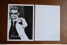 Grande Carte-photo De Johnny HALLYDAY ----- Grand Format ----- Neuve - Chanteurs & Musiciens