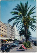 Nice: SIMCA 8 SPORT & SIMCA 9 SPORT, STUDEBAKER COMMANDER '52 - Promenade Des Anglais - (France) - Voitures De Tourisme
