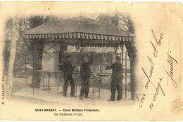 CPA N°15927 - SAINT MAIXENT - ECOLE MILITAIRE - LE CHATEAU D' EAU - ABIMEE - Saint Maixent L'Ecole