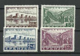 Serbia Serbien 1941 German Occupation Michel 46 - 49 * - Occupation 1938-45